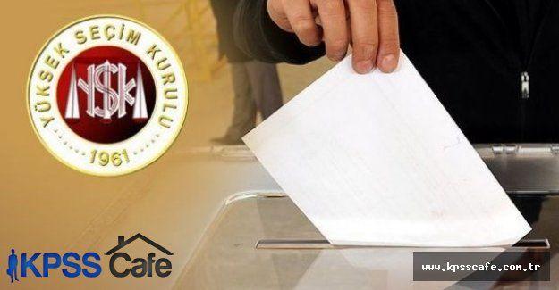 Seçimlerde yarışacak 182 bağımsız adayın listesi