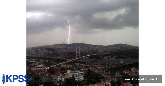 İstanbul Kuvvetli Yağışları ile Felç Olacak!