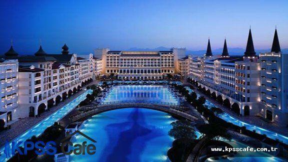 Limak Holding , Türkiye'nin en lüks oteli Mardan Palace'a kafayı taktı