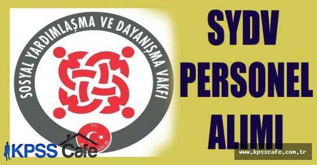 Erzincan Refahiye SYDV Personel Alacak