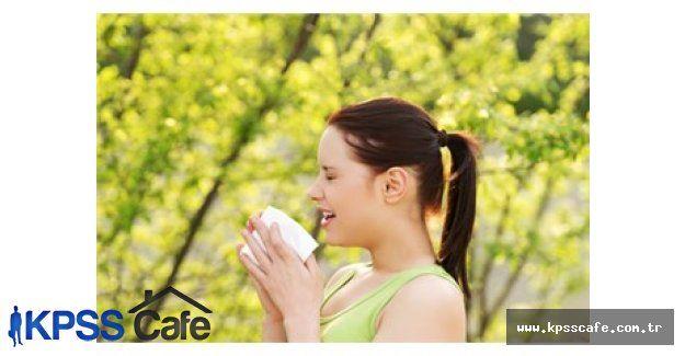 Bahar alerjisi bununla daha az yaşanır