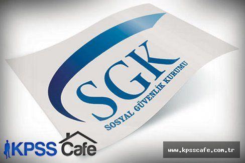 SGK Sözleşmeli Personel Alacak