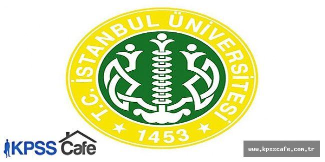 İstanbul Üniversitesi Sözleşmeli Personel Alacak