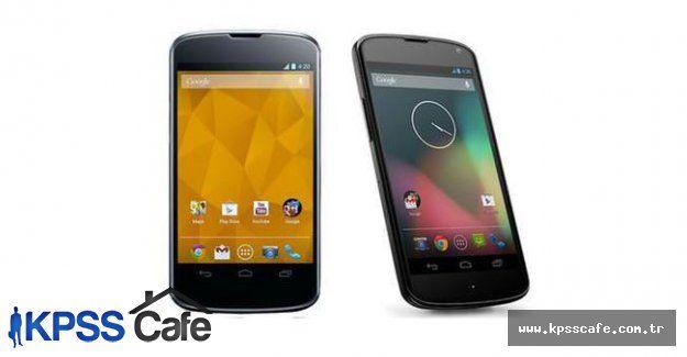 Nexus için Android güncellemesi yayınlandı