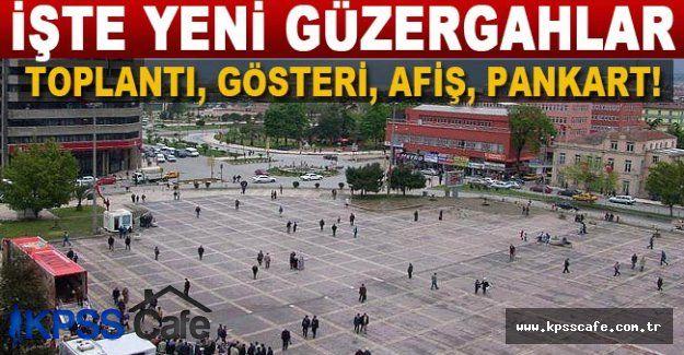 İstanbul'da toplantı ve gösteri yürüyüşü yapılacak alanlar