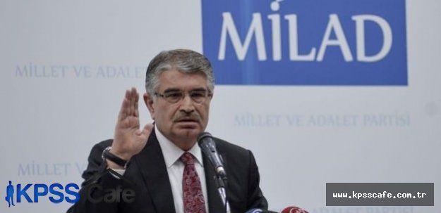 İdris Naim Şahin kendi partisinden istifa etti