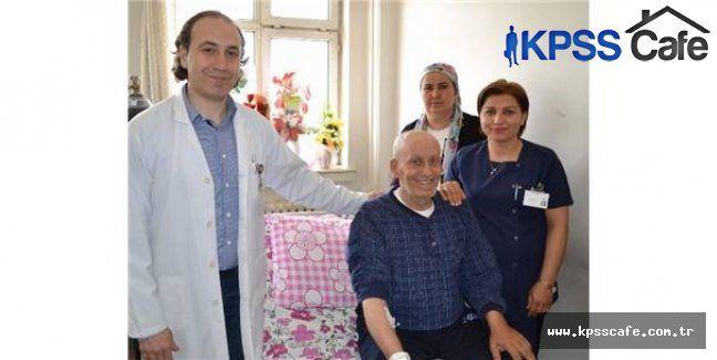 Gaziantep'te mide kanseri olan hasta