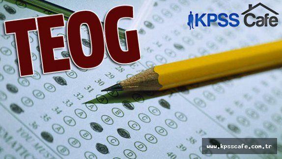 TEOG Sınavı 29-30 Nisan Günlerinde Yapılacak