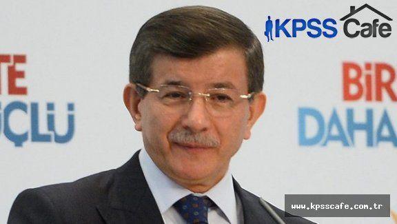 """Başbakan Davutoğlu:""""KPSS Sorularını Çaldılar"""""""