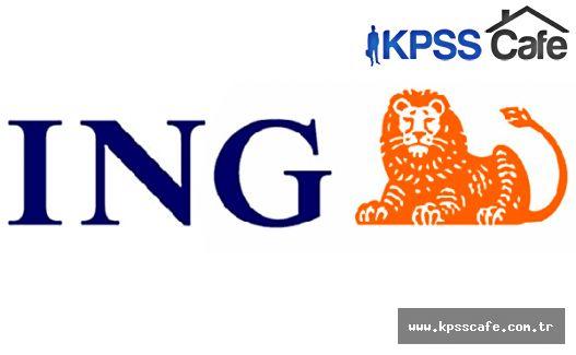 ING Bank Gişe Yetkili Yardımcısı Alım İlanı