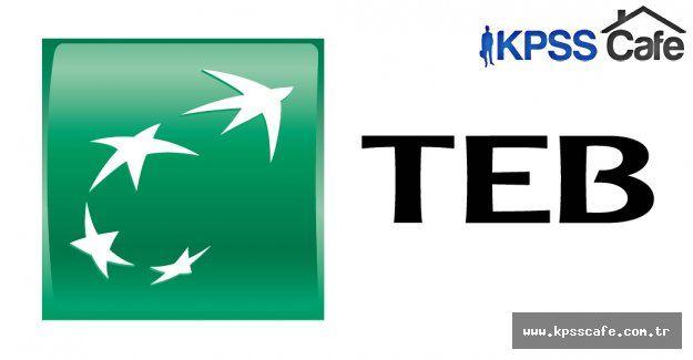 TEB İİBF Mezunu Müşteri İlişkileri Yöneticisi Alım İlanı