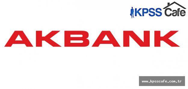 Akbank Önlisans veya Lisans Mezunu Nakit Operasyon Yetkilisi Alımı