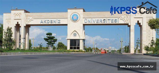 Akdeniz Üniversitesine Yeni Fakülte