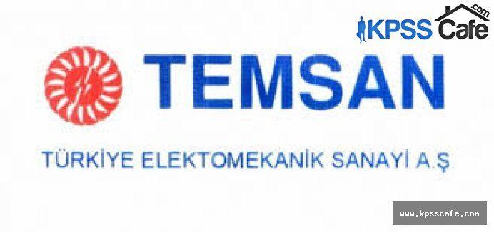 TEMSAN Ankara İşçi Alım İlanı