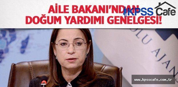 Aile Bakanı Ayşenur İslam'dan doğum yardımı genelgesi