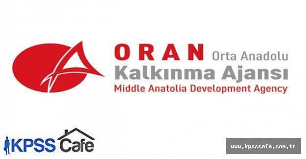 Orta Anadolu Kalkınma Ajansı Personel Alacak