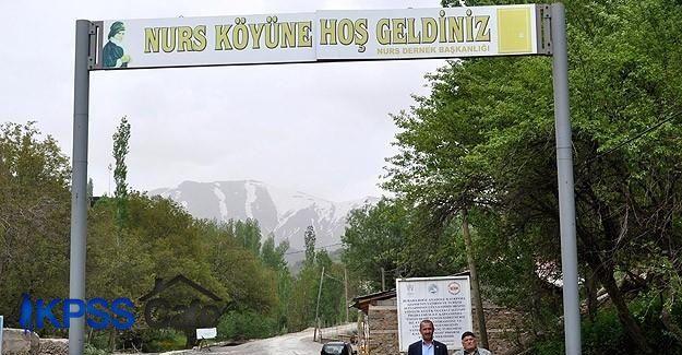 Nurs köyü inanç turizmine kazandırılıyor