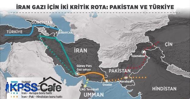 İran gazı için iki kritik rota: Pakistan ve Türkiye
