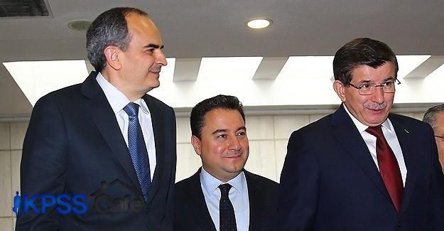 Davutoğlu Babacan ve Başçı ile görüştü