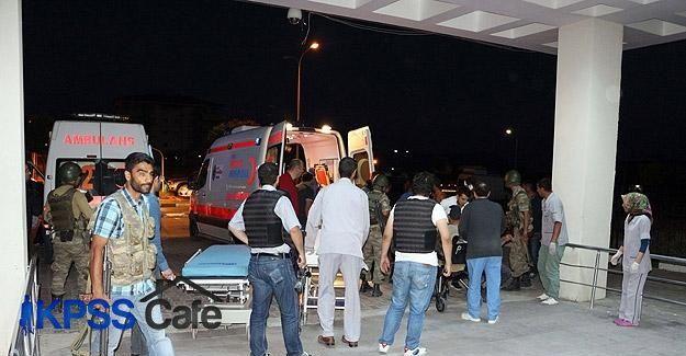 Ağrı'da jandarma karakoluna intihar saldırısı: 2 şehit 24 yaralı