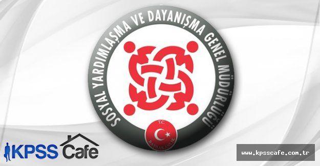 Yozgat Sorgun SYDV Personel Alacak
