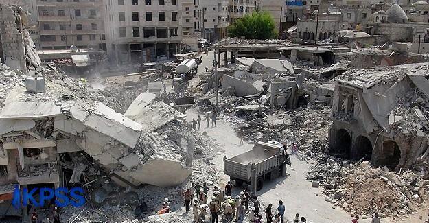 Esed rejimine ait savaş uçağı düştü: 35 ölü