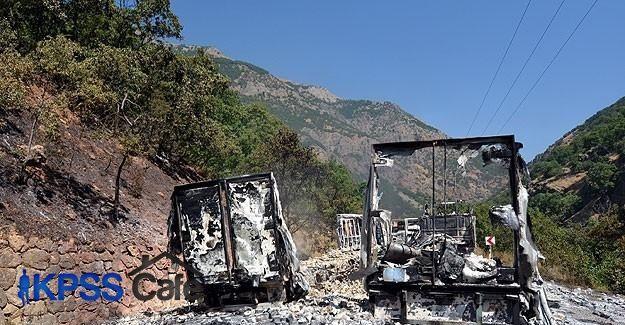 Tunceli-Erzincan karayolu ulaşıma kapatıldı