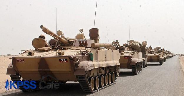 Aden'e tanklarla denizden çıkarma yapıldı