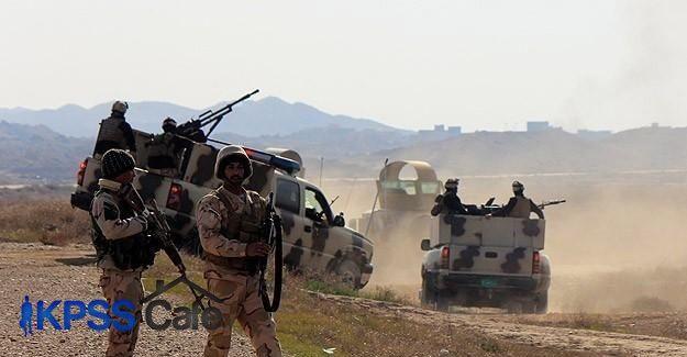 Irak'ta 56 DAEŞ militanı öldürüldü