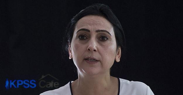 HDP Eş Genel Başkanı Yüksekdağ hakkında fezleke