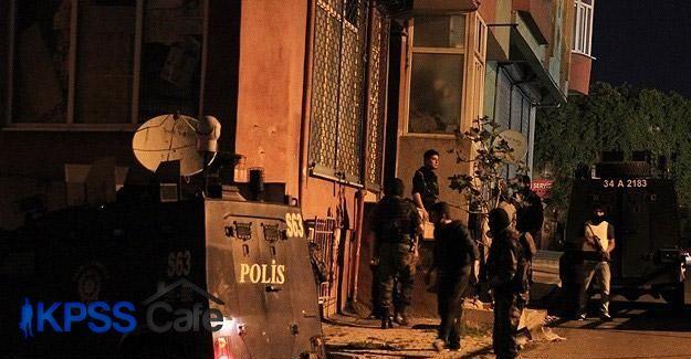 İstanbul'da terör örgütü operasyonu: 7 gözaltı