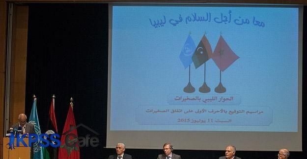 Libya uzlaşı görüşmeleri yeniden başlıyor
