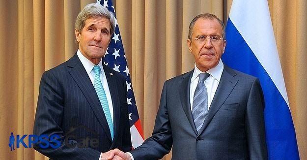 Kerry ve Lavrov BMGK tasarısında uzlaştı