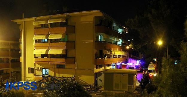 İzmir'de huzurevinde yangın