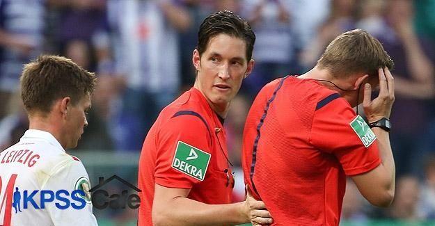 Almanya'da kupa maçı yarıda kaldı