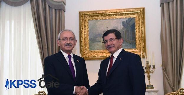 Davutoğlu ile Kılıçdaroğlu tekrar görüşecek