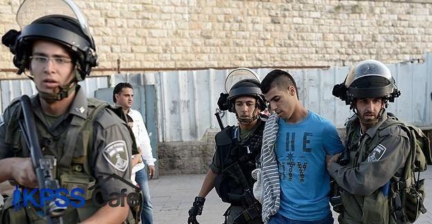 İsrail polisi 21 Filistinliyi gözaltına aldı