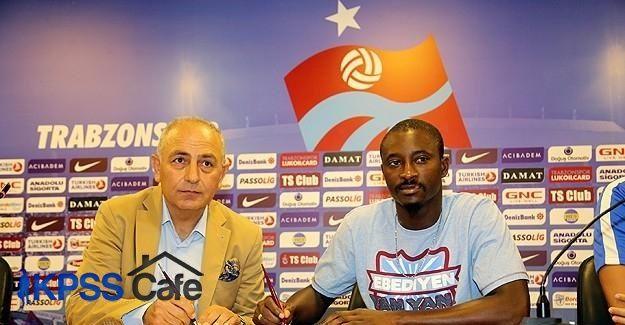 Trabzonspor N'Doye ile sözleşme imzaladı