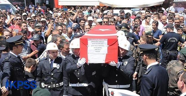Şehit polis Akyol'un cenazesi Yozgat'ta toprağa verildi