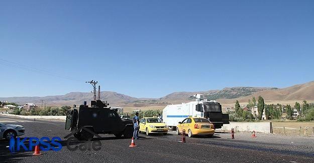Varto Jandarma Komutanlığına taciz ateşi