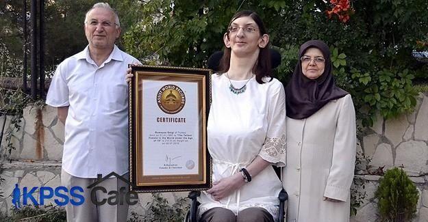 'Dünyanın en uzun boylu kızına' yeni sertifika