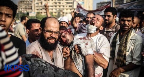 Mısır'da iki yılda 2799 kişi öldürüldü