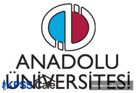 Anadolu Üniversitesi Personel Memur Alım İlanları 2015
