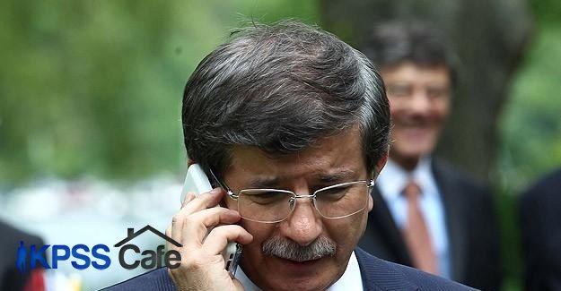 Başbakan Davutoğlu terör saldırılarıyla ilgili bilgi aldı