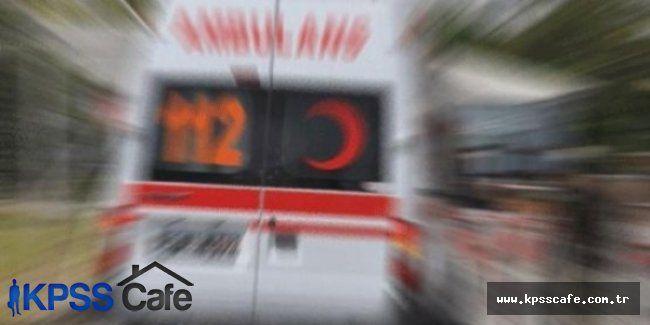 Engelli Öğrencileri Taşıyan Servis Kaza Yaptı