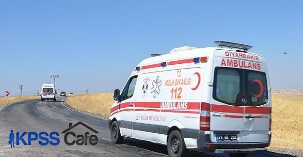 Terör örgütü yandaşları ambulans yağmaladı