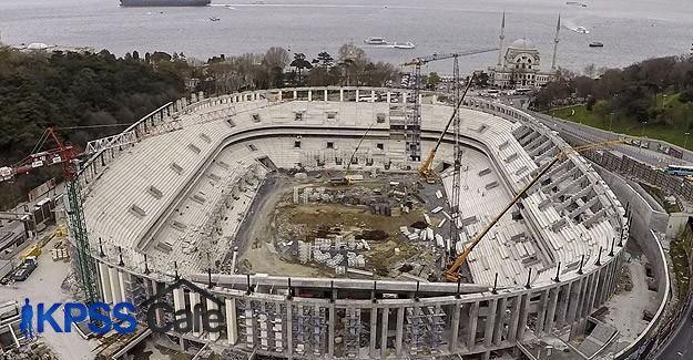 Vodafone Arena'da çalışmalara başlandı