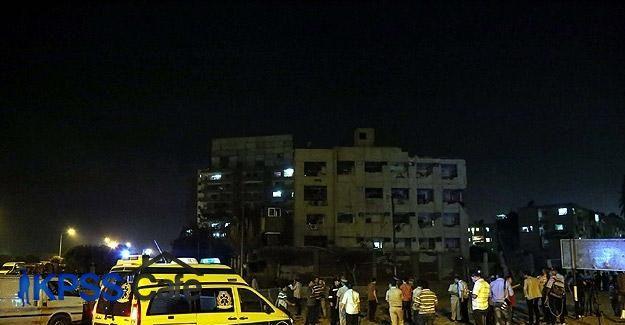 Mısır'da ulusal güvenlik ve mahkeme binasına bombalı saldırı