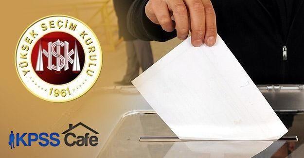YSK'dan 1 Kasım için seçim hazırlığı