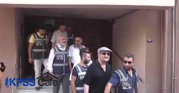 İzmir'de Paralel Yapı operasyonunda gözaltındakiler adliyede